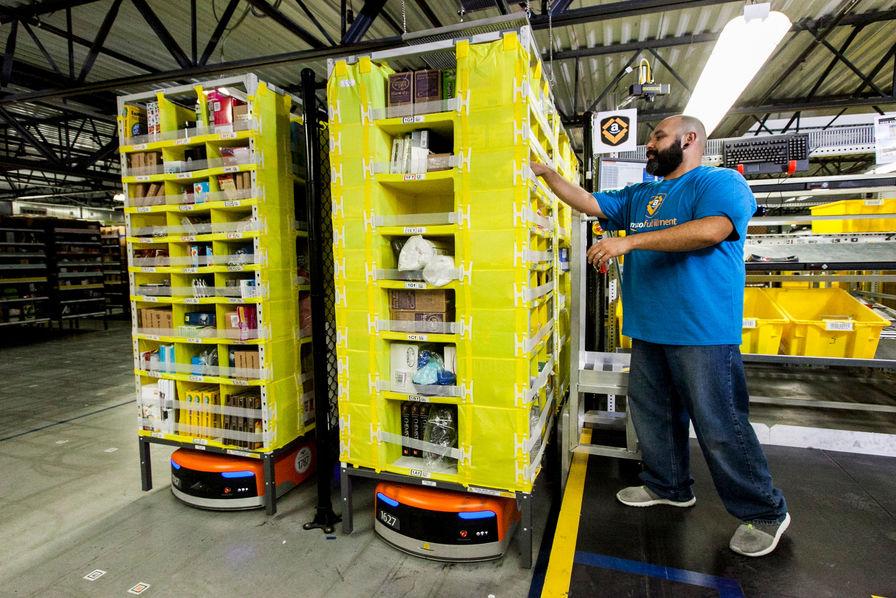 stile squisito design innovativo selezione più recente Amazon teste un gilet connecté pour protéger ses salariés ...