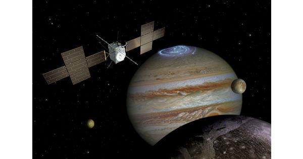 L'Europe en route vers Jupiter avec une fusée Ariane 5 ou Ariane 6