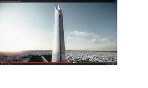La tour Mohammed VI encore au stade de pré-concept avec ses 540 mètres serait la plus haute d'Afrique.