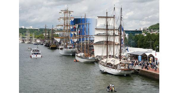 [En images] Les plus beaux voiliers de l'Armada de Rouen
