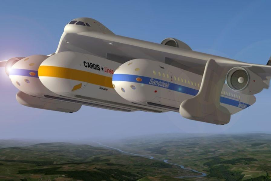 avions modulaires quand des ing nieurs s parent le fuselage des ailes entracte. Black Bedroom Furniture Sets. Home Design Ideas
