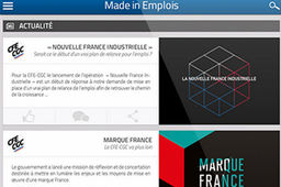 "Une application pour soutenir l'emploi ""made in France"""
