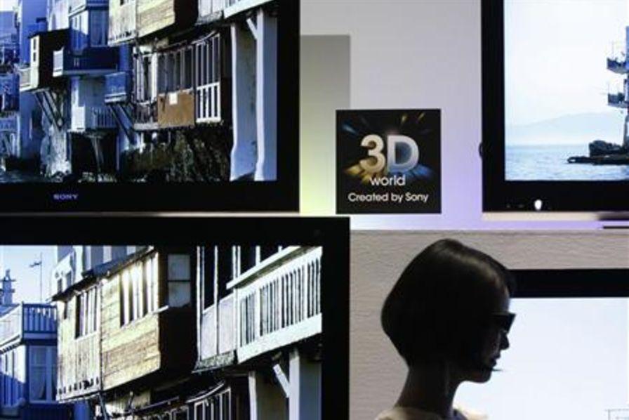 la tv 3d ne fait pas recette technos et innovations. Black Bedroom Furniture Sets. Home Design Ideas