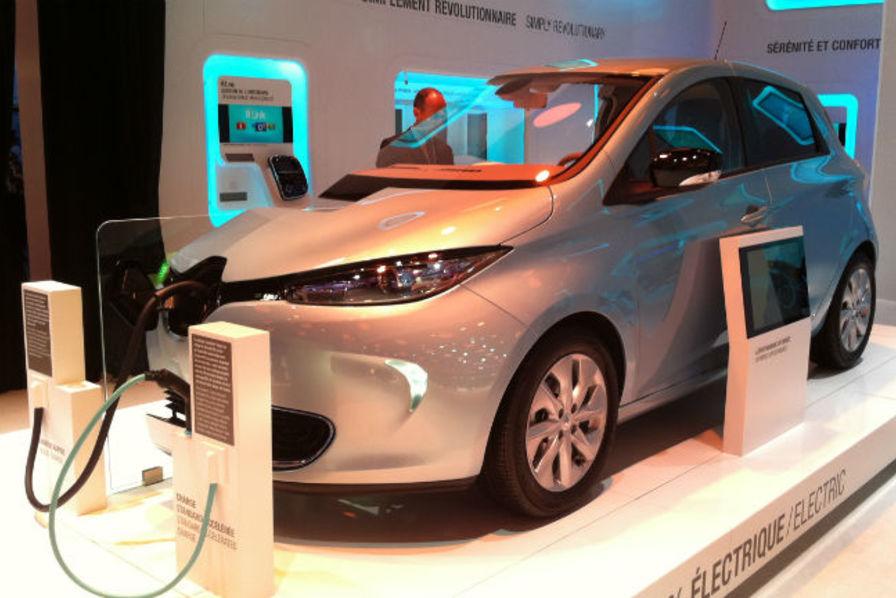 pour renault, les véhicules électriques pèseraient plus de 10 % du