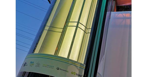 À Créteil, les micro-algues purifient l'air de l'usine d'incinération