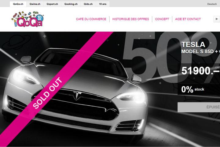 Un site internet suisse vend des tesla moiti prix succ s imm diat l - Vente internet suisse ...