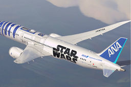 Air France surfe sur la folie Star Wars