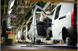 La France, pays le plus touché par la chute de la production automobile en Europe