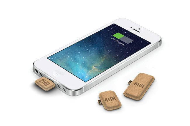 Un designer invente une batterie de secours écolo pour smartphone