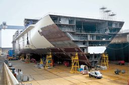 L'Harmony of the Seas, navire XXL made in Saint-Nazaire
