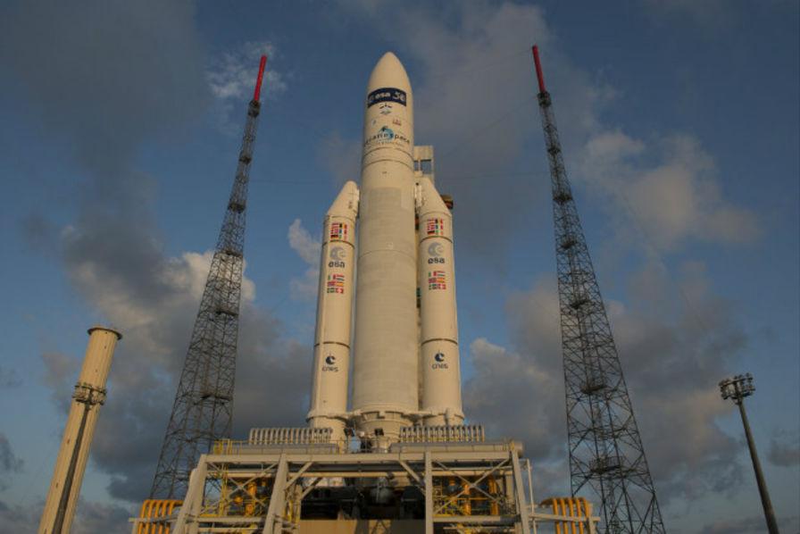 Calendrier Lancement Ariane 2019.Le Lancement D Ariane 5 Arrete Dans Les Toutes Dernieres