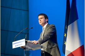 """La France a la chance de disposer d'une industrie de la sécurité à la pointe de l'innovation"", selon Manuel Valls"