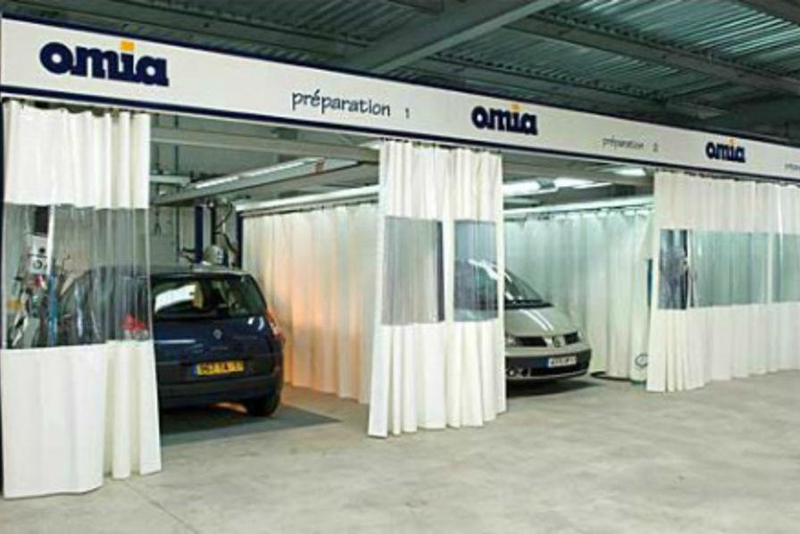 Le fabricant de cabines de peinture automobiles omia va for Achat voiture garage dans le centre