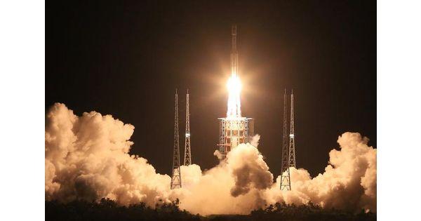 La Chine planche sur une méga fusée concurrente de SpaceX