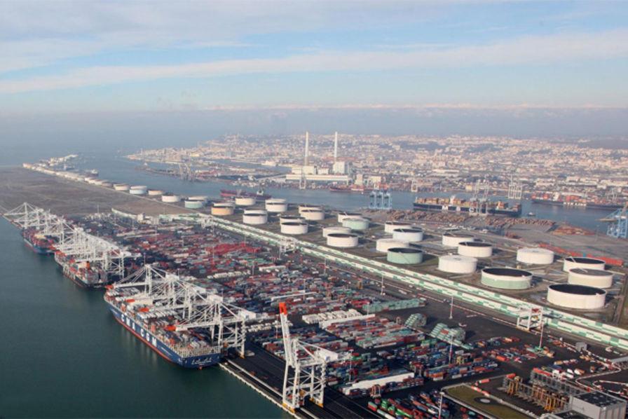 Le port du havre l arr t transport logistique - Chambre de commerce et d industrie du havre ...