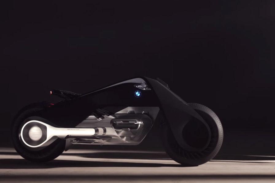 la moto du futur pour bmw se conduira sans casque ni v tements de protection l 39 usine auto. Black Bedroom Furniture Sets. Home Design Ideas