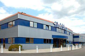 L'usine Filet Bleu à Saint-Evarzec près de Quimper (Finistère)
