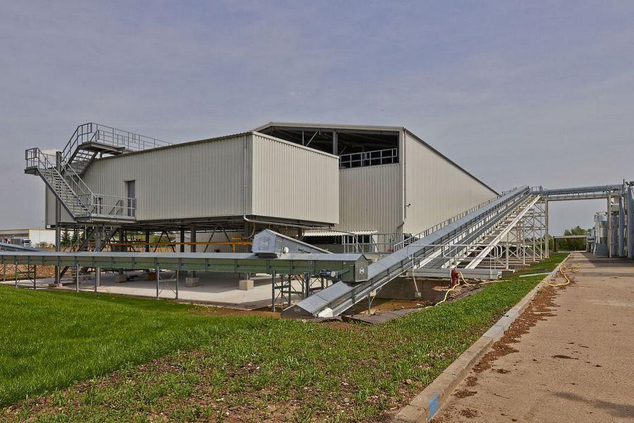 Le comptoir agricole inaugure son usine de semences de - Comptoir agricole bas rhin ...