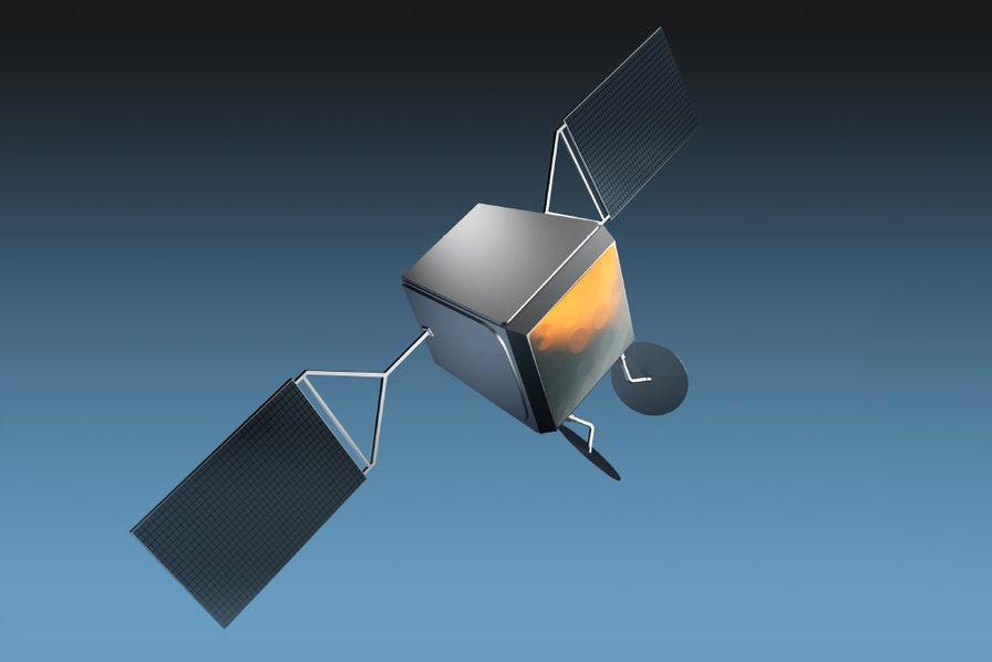 OneWeb constellation Airbus, vs celle que prévoit Space X Satellite-oneweb