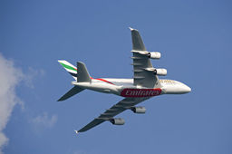 Commande record d'Emirates à Airbus : 32 A380
