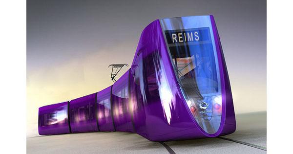 le nouveau tramway de reims image du jour. Black Bedroom Furniture Sets. Home Design Ideas