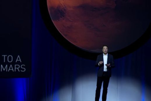 SpaceX sur Mars : The show Musk go on