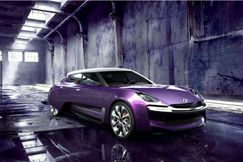 photos un designer offre la mythique ds un concept futuriste l 39 usine auto. Black Bedroom Furniture Sets. Home Design Ideas