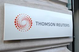 Le CA trimestriel de Thomson Reuters stable
