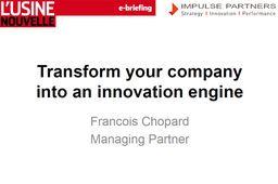 Transform your company into an innovation engine
