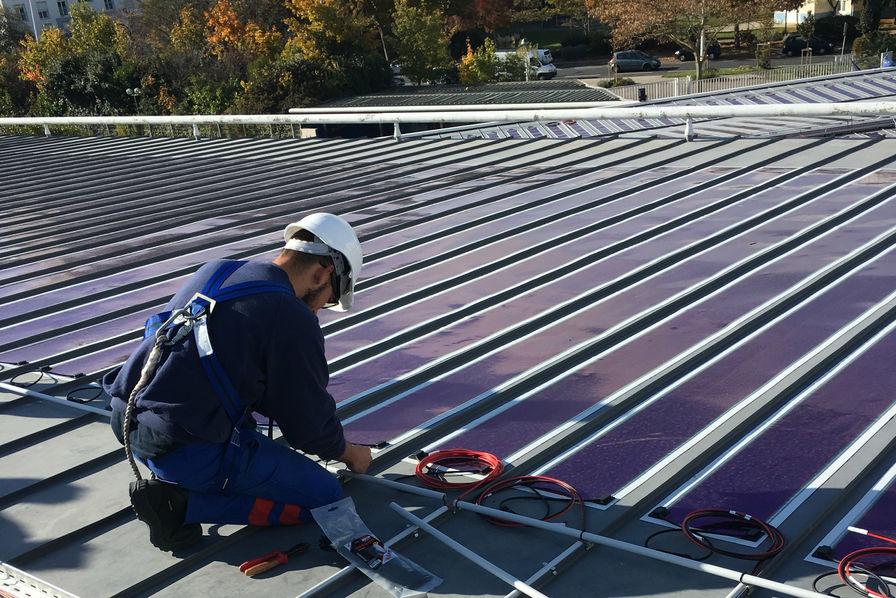 les films solaires organiques d 39 heliatek adopt s par engie la rochelle l 39 usine de l 39 energie. Black Bedroom Furniture Sets. Home Design Ideas