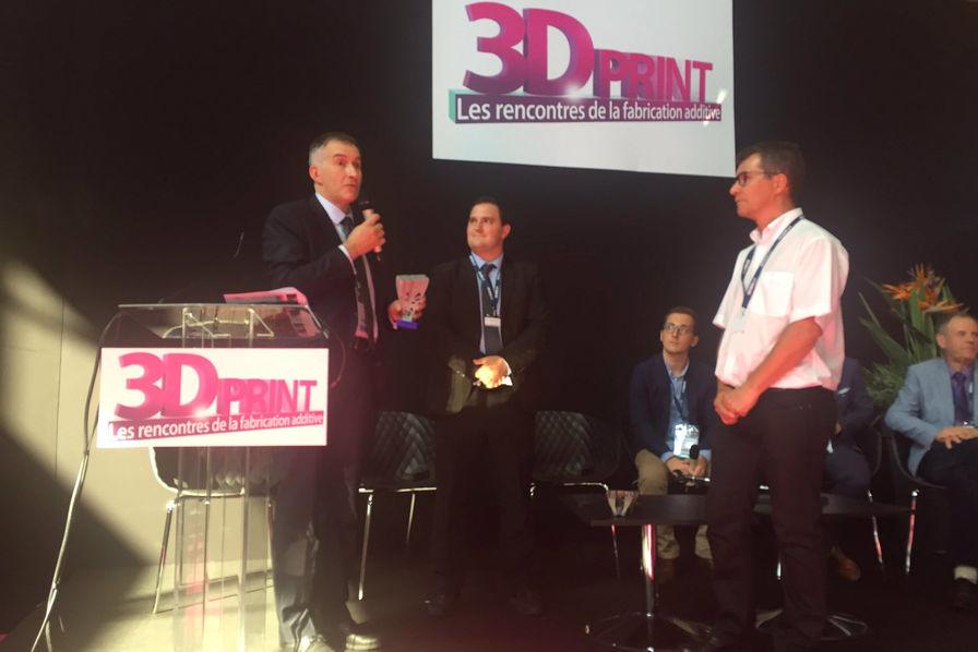 Le gagnant du troph e 3d print 2017 est innovation for Salon plasturgie
