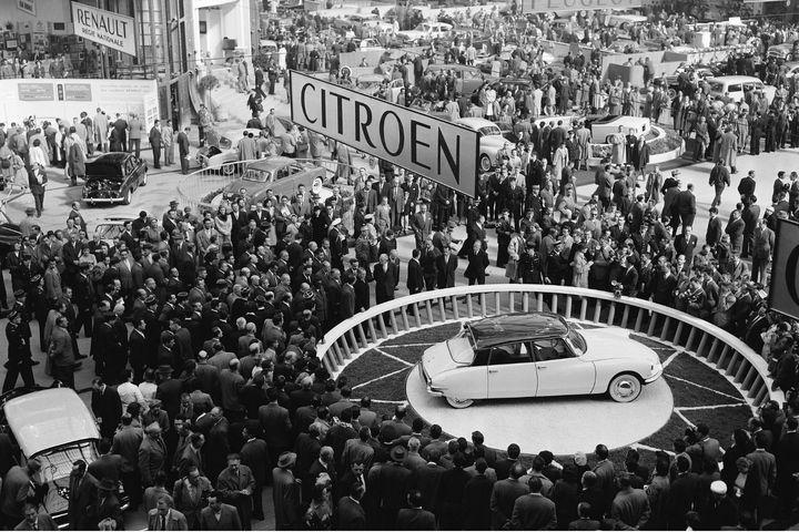 1955 2015 retour en images sur les 60 ans de la citro n for Salon des ce paris