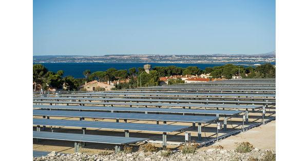 Une centrale solaire, nouvelle étape pour la reconversion de l'ex-raffinerie Total à La Mède