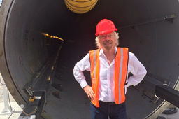Richard Branson rejoint Hyperloop One qui devient Virgin Hyperloop One