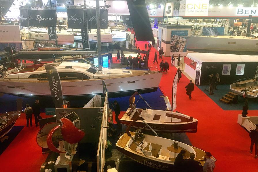 L industrie du nautisme un poids de 5 milliards dans l for Salon nautique porte de versailles horaires