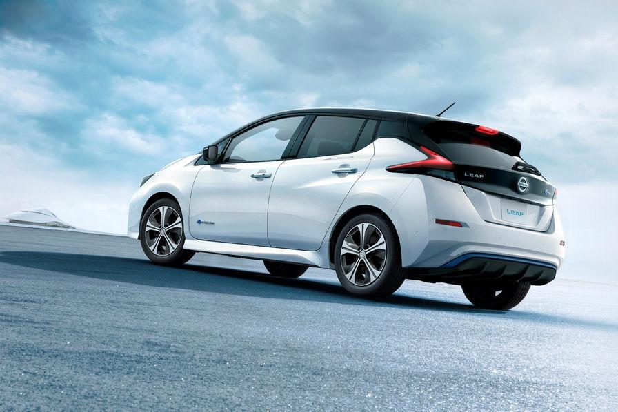 Voitures électriques: Nissan présente sa nouvelle Leaf