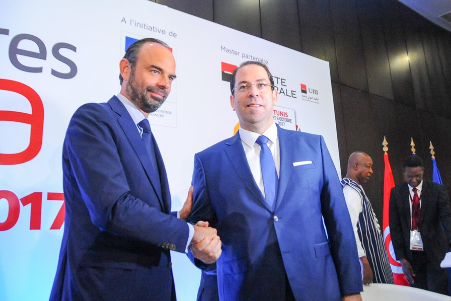A Tunis, les industriels qui accompagnent Edouard Philippe font du business