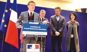 Benoît Thieulin (à gauche) présidera un CCnum totalement recomposé.