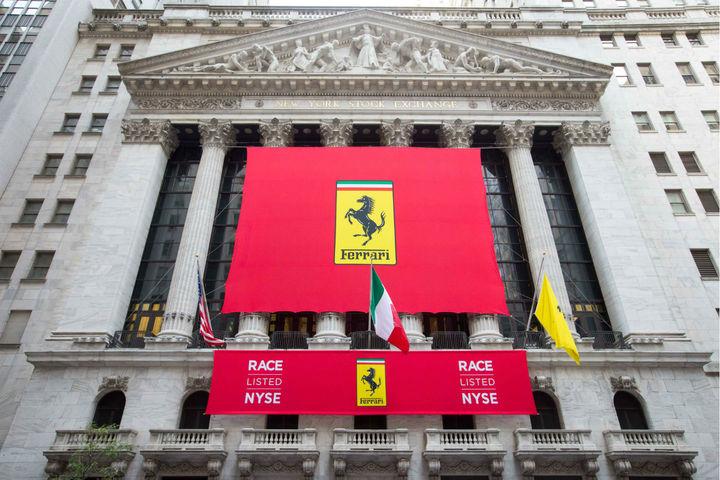 La Auto Exchange >> Ferrari réalise un départ canon à la Bourse de New York ...