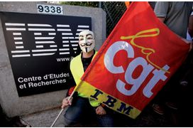 IBM sur le point de supprimer 700 postes en France en 2013, selon les syndicats