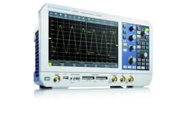 L'oscilloscope grand angle de R&S