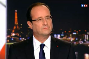 François Hollande - TF1 - 09/09/12