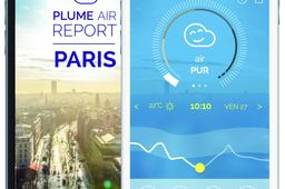 Plume Air Report, l'app qui suit la pollution