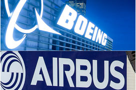 [Infographie] Airbus VS Boeing, le grand match 2017