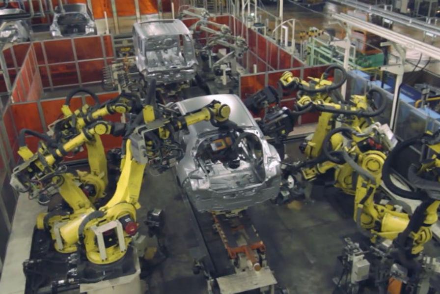 Dans L Usine Nissan D Oppama Au Japon L Usine Auto