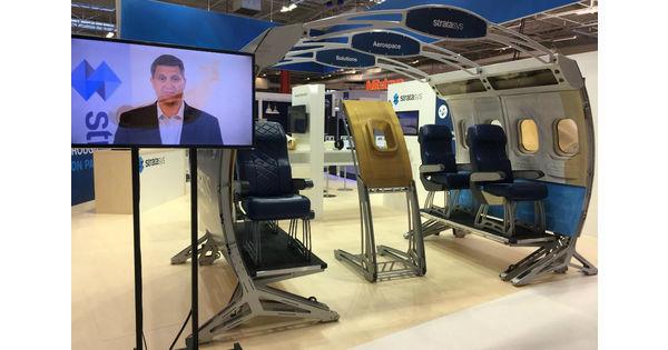 Addup, Dassault Systèmes, Stratasys… L'impression 3D s'impose au Bourget - Bourget 2017