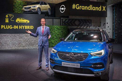 [Francfort 2017] L'Opel Grandland X, le SUV allemand made in France