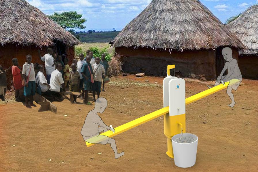 [L'industrie c'est fou] Une balançoire pour pomper l'eau du sol