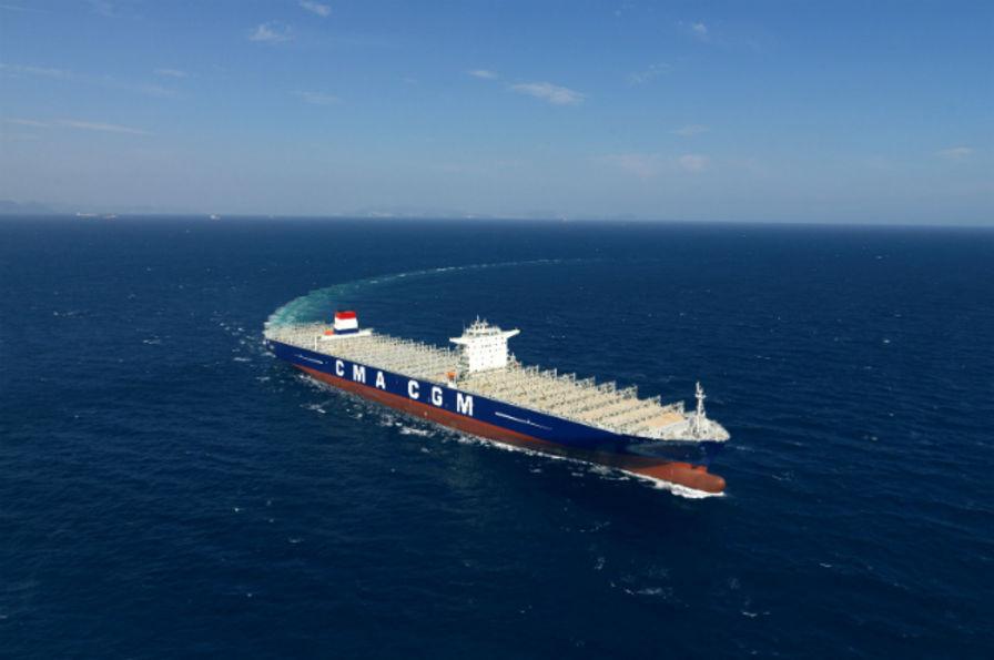 Le plus gros porte conteneurs du monde fait escale au havre a ronautique - Prenom le plus porte au monde ...