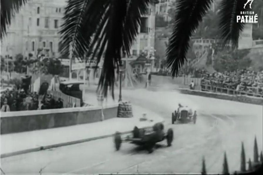 vid o regardez le grand prix de monaco de 1929 l 39 usine auto. Black Bedroom Furniture Sets. Home Design Ideas